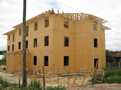 Дома из OSB панелей - фото на сайте SISU