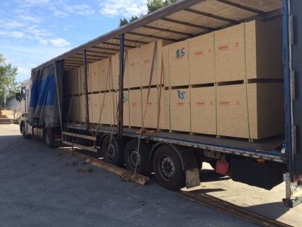 Новые поставки OSB-3 производства «Кроно-Украина»! - фото на сайте SISU