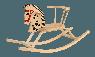 Лошадка Качалка Classic (Rocking Horse) - фото 4 на сайте SISU